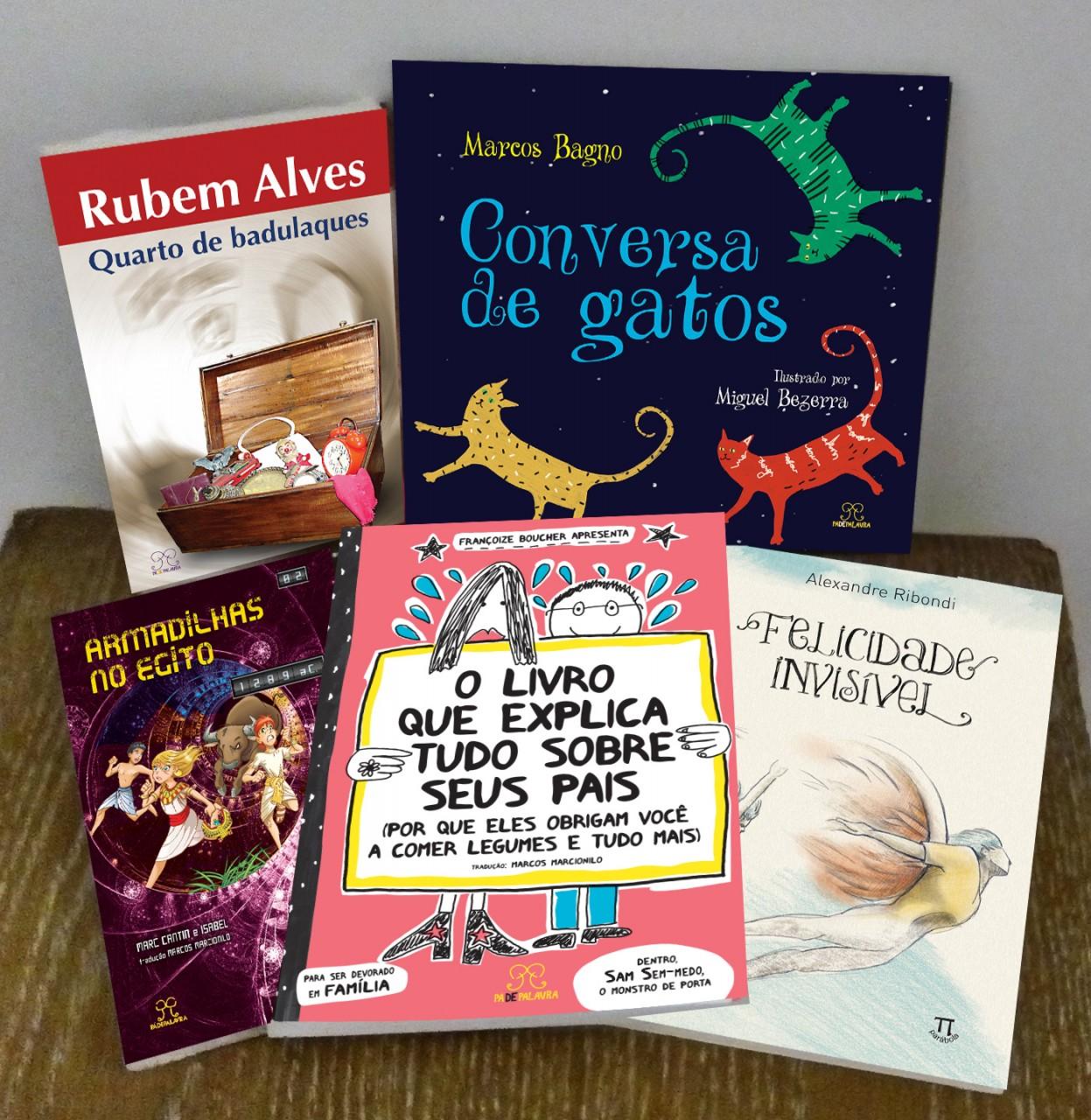5 livros infantojuvenis para incentivar seu filho adolescente a ler mais